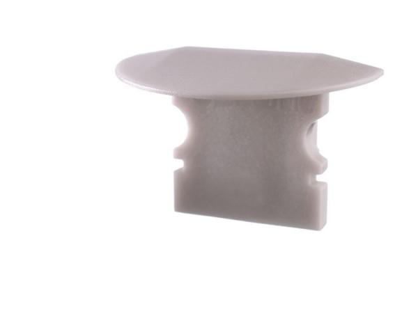 Reprofil Profil Zubehör, Endkappe P-ET-02-08 Set 2 Stk, Kunststoff, Grau, 23x16mm