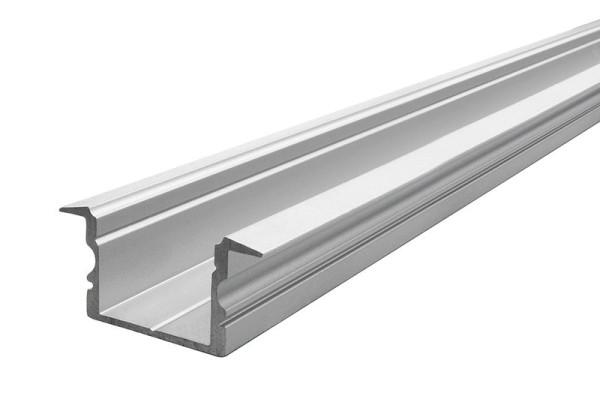 Reprofil Profil, T-Profil hoch ET-02-15, Aluminium, Silber-matt eloxiert, 1000mm