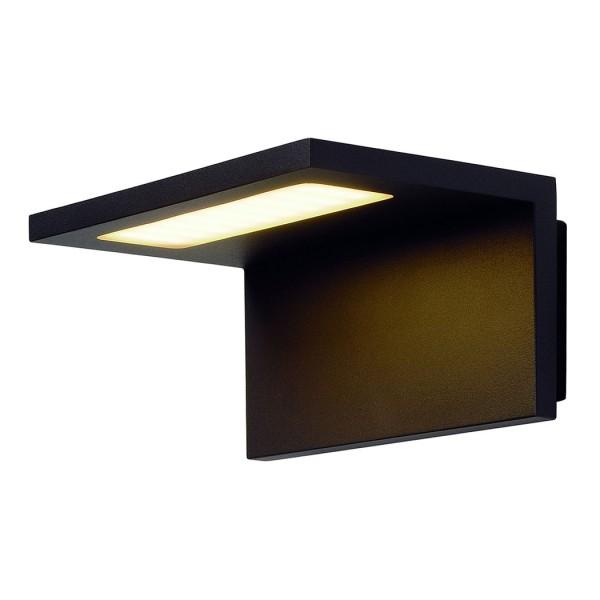 ANGOLUX WALL Wandleuchte, anthrazit, 36 SMD LED, 3000K