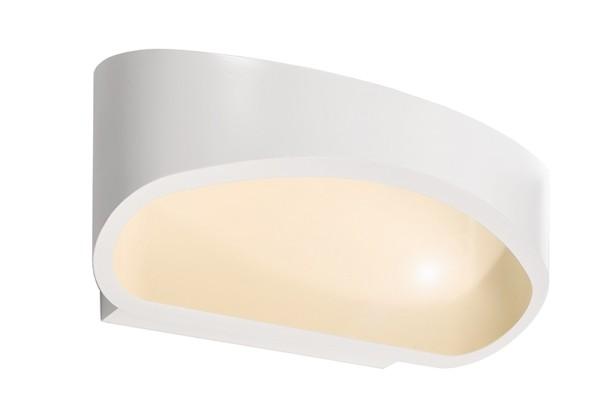 Deko-Light Wandaufbauleuchte, Acamar, Aluminium Druckguss, weiß, Warmweiß, 104°, 5W, 230V, 170x100mm