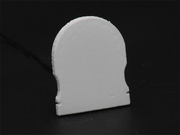Reprofil Profil Zubehör, Endkappe R-AU-02-20 Set 2 Stk, Kunststoff, Grau