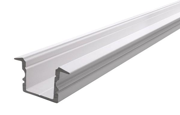 Reprofil Profil, T-Profil hoch ET-02-12, Aluminium, Weiß-matt, 2000mm