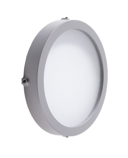 Deko-Light Zubehör, Tauri 40 Abdeckung mit geriffeltem Glas, Aluminium, Anthrazit