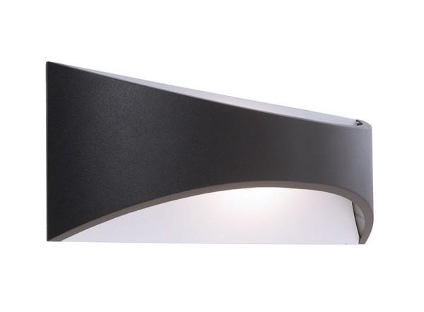 Deko-Light Wandaufbauleuchte, Uria 10, Aluminium Druckguss, anthrazit, Warmweiß, 120°, 10W, 230V