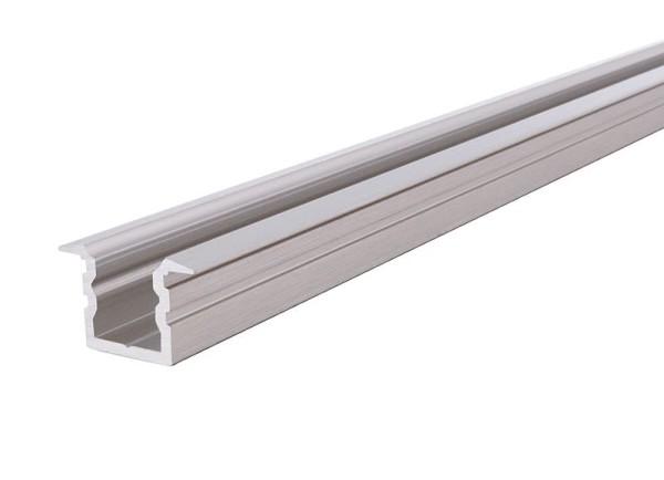Reprofil Profil, T-Profil hoch ET-02-05, Aluminium, Silber gebürstet, 2000mm
