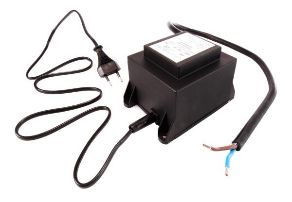 Netzgerät, ABN Transformator 12 VAC, 150W, IP 67, Kunststoff, Schwarz, 150W, 11V, 130x93mm