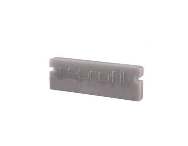 Reprofil Profil Zubehör, Endkappe P-AU-01-15 Set 2 Stk, Kunststoff, Grau, 21x6mm