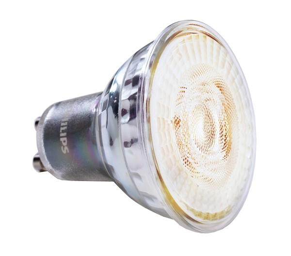 Phillips Leuchtmittel, MAS LED spot VLE D 3.7-35W GU10, Warmweiß, 36°, 3W, 230V, 20mA, 54mm