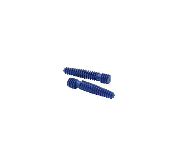DÜBEL, für GLENOS Fußleisten-Profil, für Stein/Beton, 2 Stück