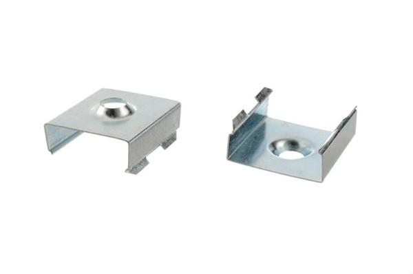 Reprofil Profil Zubehör, Halteklammer - 12 Set 2 Stk, Metall, 20x19mm