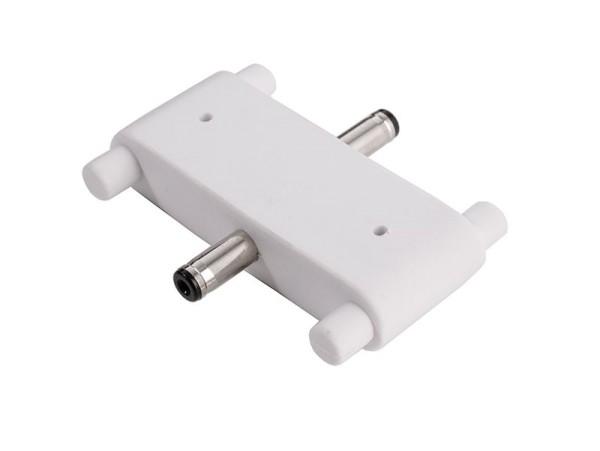 Deko-Light Zubehör, Verbinder Mia gerade, weiß, Kunststoff, Weiß, 24V, 14x38mm