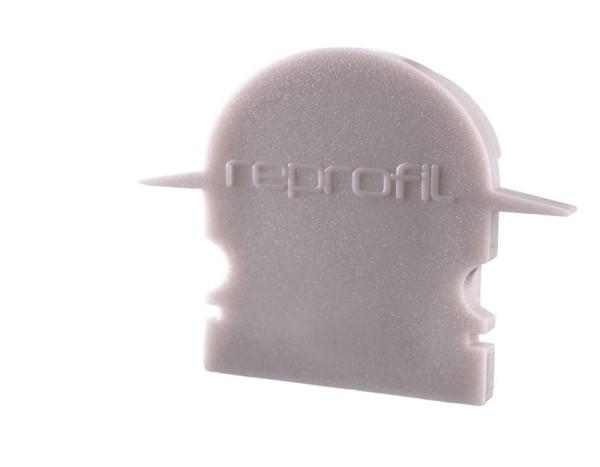 Reprofil Profil Zubehör, Endkappe R-ET-02-15 Set 2 Stk, Kunststoff, Grau, 30x6mm