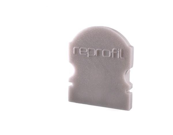 Reprofil Profil Zubehör, Endkappe L-AU-02-10 Set 2 Stk, Kunststoff, Grau, 16x6mm