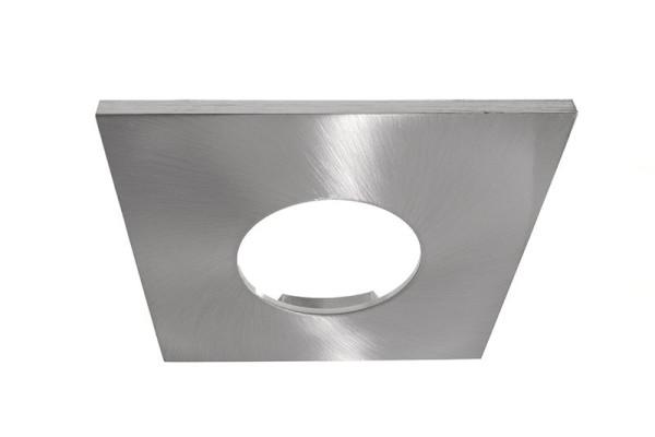 Deko-Light Zubehör, Abdeckung Silbersatiniert eckig für COB 68 IP65 + Mizar II, Aluminium, 83x83mm