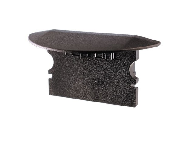 Reprofil Profil Zubehör, Endkappe P-ET-02-15 Set 2 Stk, Kunststoff, Schwarz, 30x16mm