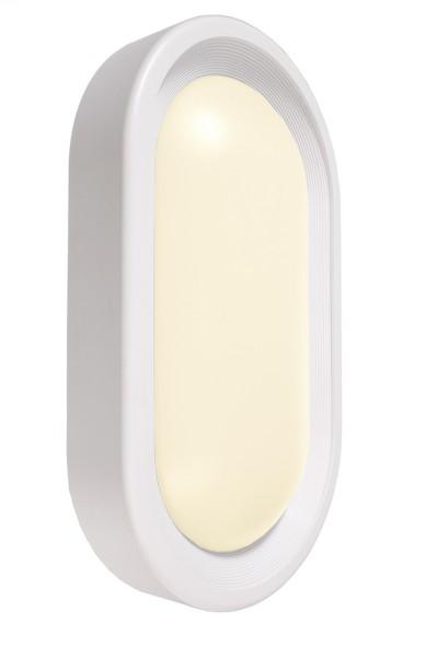 KapegoLED Wandaufbauleuchte, Cancri IV, inklusive Leuchtmittel, Warmweiß, Weiß