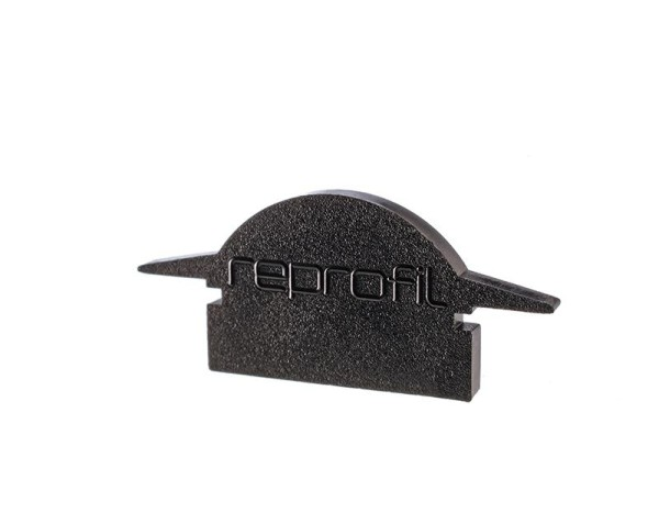 Reprofil Profil Zubehör, Endkappe L-ET-01-10 Set 2 Stk, Kunststoff, Schwarz, 25x6mm