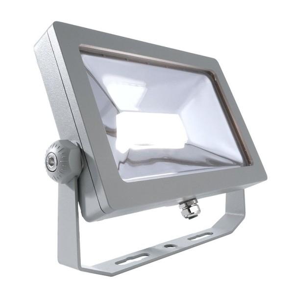 Deko-Light Boden- / Wand- / Deckenleuchte, FLOOD SMD I, Aluminium Druckguss, silberfarben, 100°, 30W