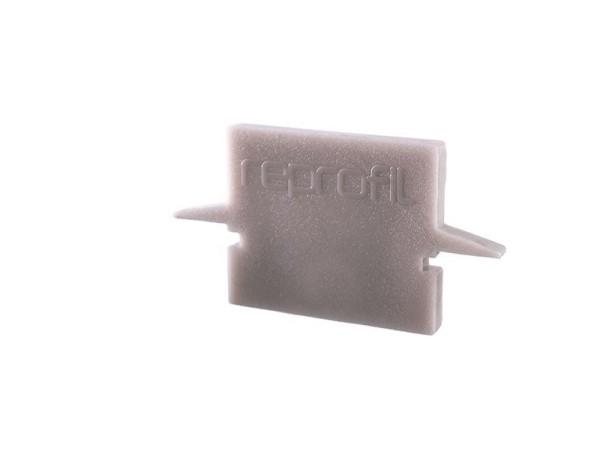 Reprofil Profil Zubehör, Endkappe H-ET-01-08 Set 2 Stk, Kunststoff, Grau, 23x6mm