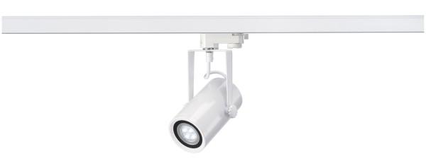 EURO SPOT INTEGRATED LED, Spot für Hochvolt-Stromschiene 3Phasen, LED, 4000K, weiß, 24°, 12,6W