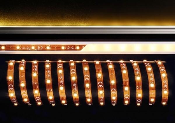 Deko-Light Flexibler LED Stripe, 5050-30-24V-3000K-5m, Kupfer, Kupfer, Warmweiß, 120°, 36W, 24V