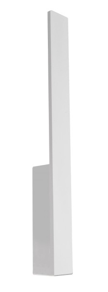 Deko-Light Wandaufbauleuchte, Parala 425, Aluminium Druckguss, weiß satiniert, Warmweiß, 110°, 4W