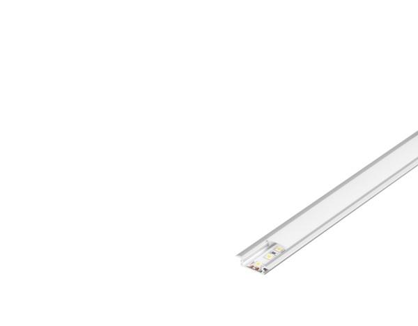 GLENOS, Linear-Einbau-Profil 2508, aluminium eloxiert, 2 m