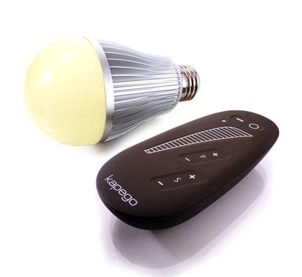 Leuchtmittel, LED E27 RF Single, 220-240V AC/50-60Hz, E27, 8,00 W