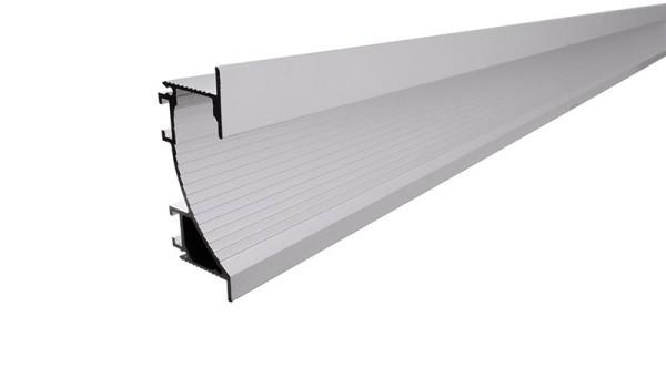 Reprofil Profil, Trockenbau-Profil, Wandvoute EL-02-12, Aluminium, Silber-matt naturbelassen, 3000mm