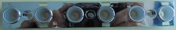 Deko-Light Zubehör, Reflektor für Leuchte Ain 48°, Kunststoff, Silber, 48°, 159mm