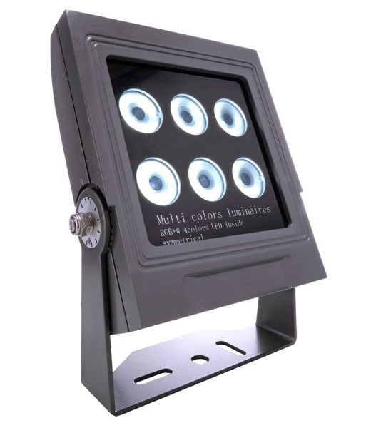 Deko-Light Boden- / Wand- / Deckenleuchte, Power Spot III RGBWW, Aluminium Druckguss, anthrazit, 30°