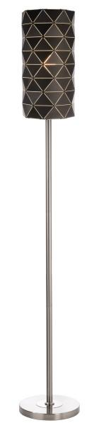 Deko-Light Stehleuchte, Asterope linear, Metall, schwarz matt, 40W, 230V