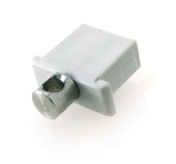 Endkappe Micro mit Stromversorgung, Grau