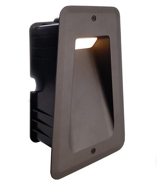 KapegoLED Wandeinbauleuchte, Tapi II, inklusive Leuchtmittel, Warmweiß, 100-240V AC/50-60Hz, 6,00 W