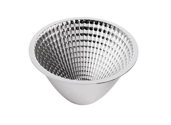 KapegoLED Ersatzteil, 40° Reflektor Luna 30/40, Kunststoff, Silber Chrom, 40°