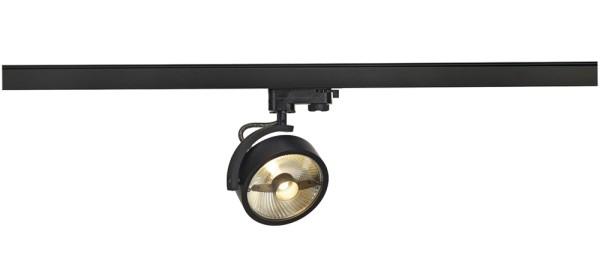 KALU TRACK, Spot für Hochvolt-Stromschiene 3Phasen, QPAR111, schwarz, max. 75 W