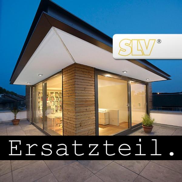 Glas für SITRA Wegeleuchte, steingrau (Rahmen mit 3 Bohrungen!)