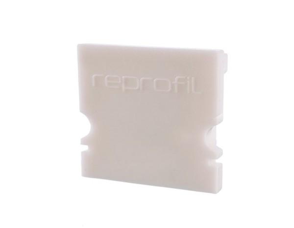 Reprofil Profil Zubehör, Endkappe H-AU-02-15 Set 2 Stk, Kunststoff, Weiß, 21x6mm