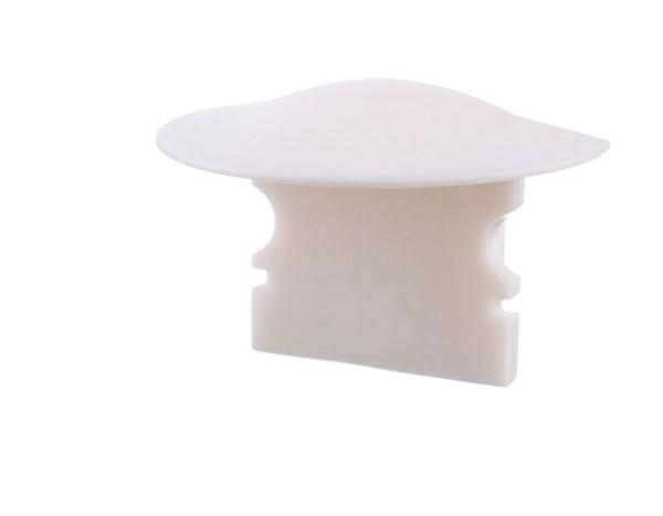 Reprofil Profil Zubehör, Endkappe F-ET-02-10 Set 2 Stk, Kunststoff, Weiß, 25x16mm