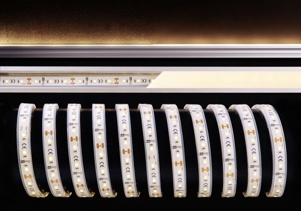 Deko-Light Flexibler LED Stripe, 2835-60-12V-3000K-5m-Silikon, Kupfer, Weiß, Warmweiß, 120°, 40W