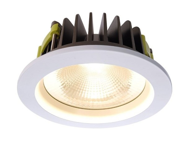 Deko-Light Deckeneinbauleuchte, COB 170, Aluminium, weiß, Warmweiß, 60°, 25W, 35V, 700mA