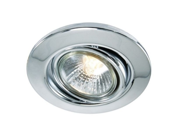 Deko-Light Deckeneinbauring, Metall, silberfarben Chrom, 50W, 230V