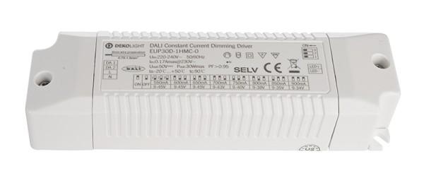 Deko-Light Netzgerät, DALI Multi CC EUP30D-1HMC-0, Kunststoff, Weiß, 30W, 9-45V, 550mA, 150x43mm