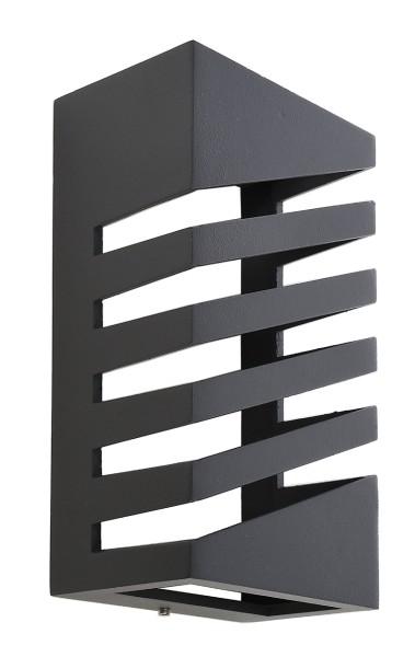 Deko-Light Zubehör, Abdeckung für Leuchte Grumium eckig II, Aluminium Druckguss, Dunkelgrau