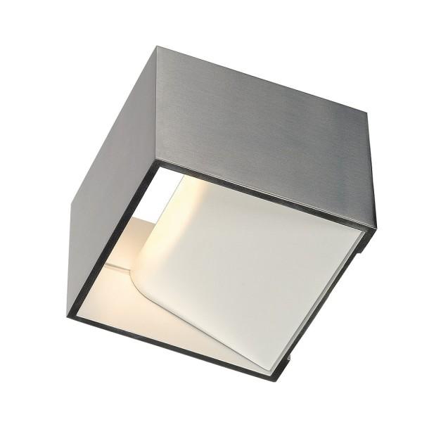 GLENOS ENDKAPPE für Aluminium Fußleistenprofil für LED, weiss