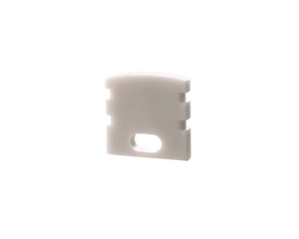 Reprofil Profil Zubehör, Endkappe F-AU-02-05 Set 2 Stk, Kunststoff, Weiß