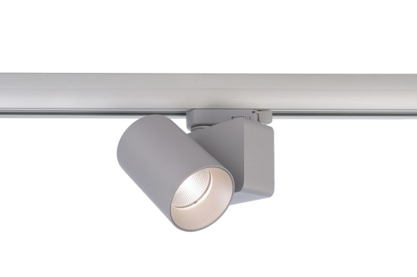 Deko-Light Schienensystem 3-Phasen 230V, Nihal Mini, Aluminium Druckguss, silberfarben, Neutralweiß