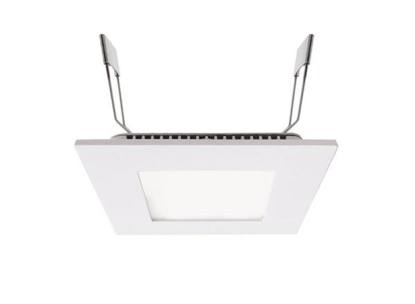 Deko-Light Deckeneinbauleuchte, LED Panel Square 8, Aluminium Druckguss, weiß, Neutralweiß, 110°, 7W