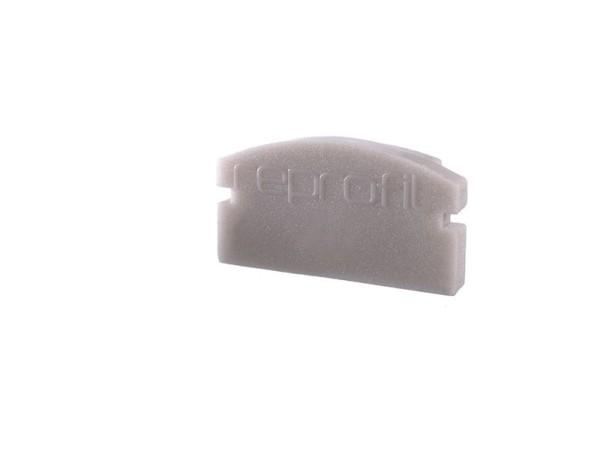Reprofil Profil Zubehör, Endkappe F-AU-01-10 Set 2 Stk, Kunststoff, Grau, 16x6mm