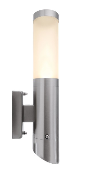 Deko-Light Wandaufbauleuchte, Nova III, Edelstahl, silberfarben, 11W, 230V, 331x105mm